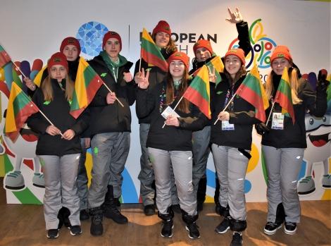 Lietuvos komanda Sarajeve