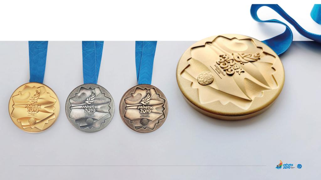Europos žaidynių medaliai