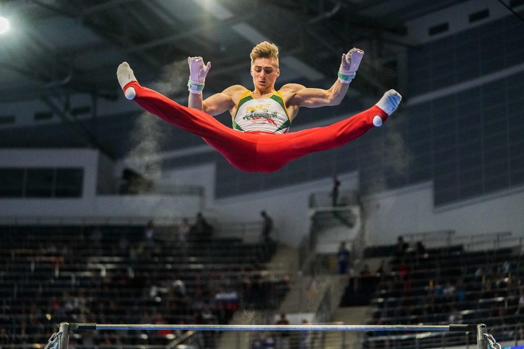 Robertas Tvorogalas 2019 m. Europos žaidynėse (K.Štreimikio nuotr.)