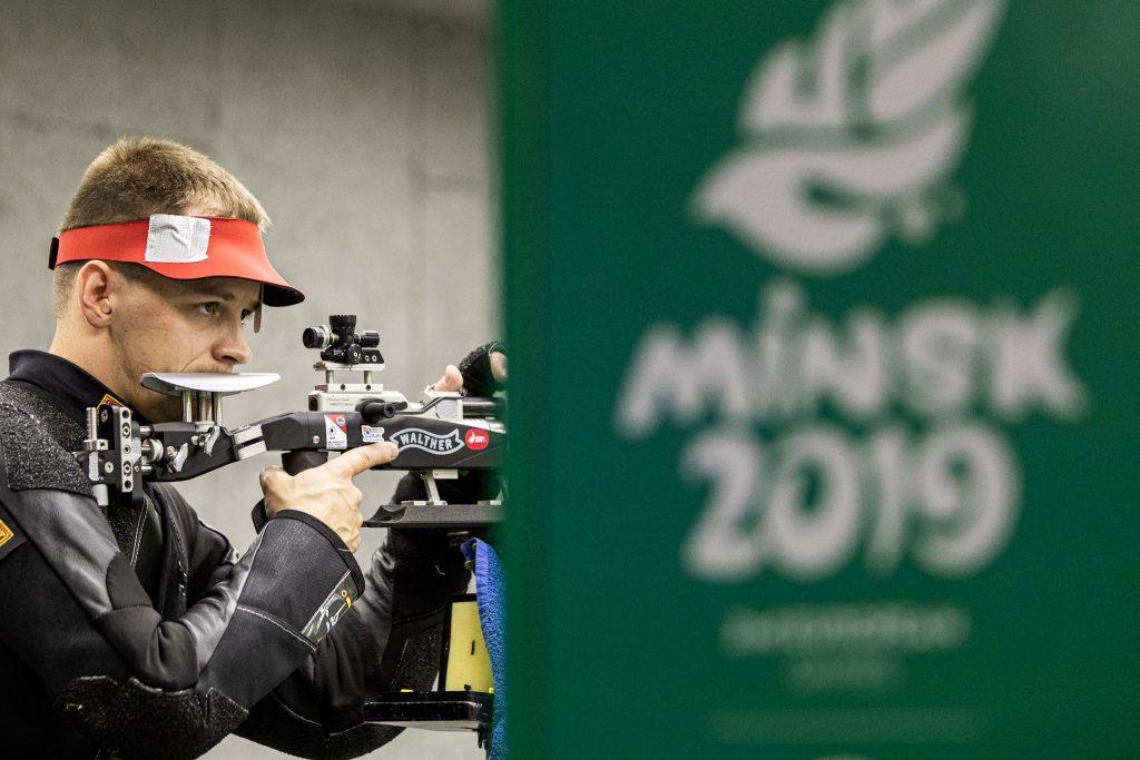 Karolis Girulis 2019 m. Europos žaidynėse (K.Štreimikio nuotr.)
