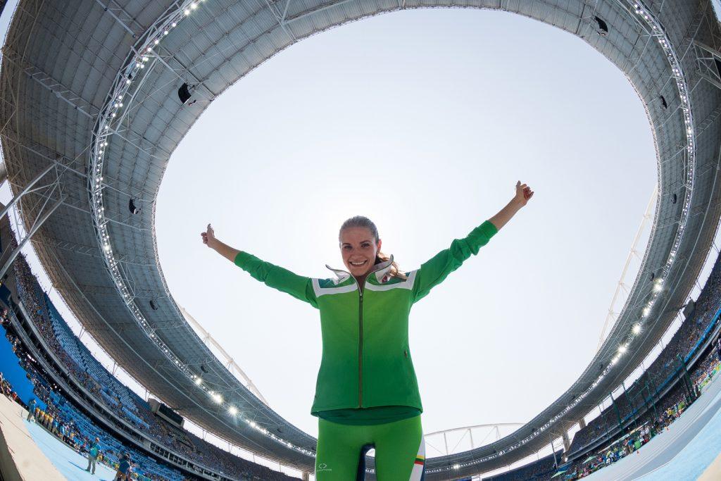 Airinė Palšytė 2016 m. Rio de Žaneiro olimpinėse žaidynėse (A.Pliadžio nuotr.)