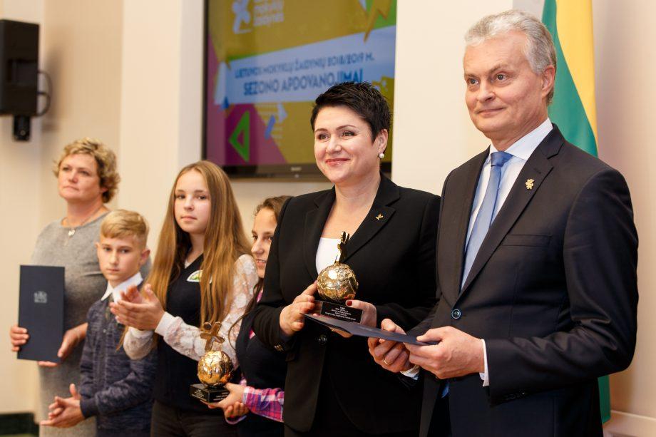 Daina Gudzinevičiūtė ir Gitanas Nausėda