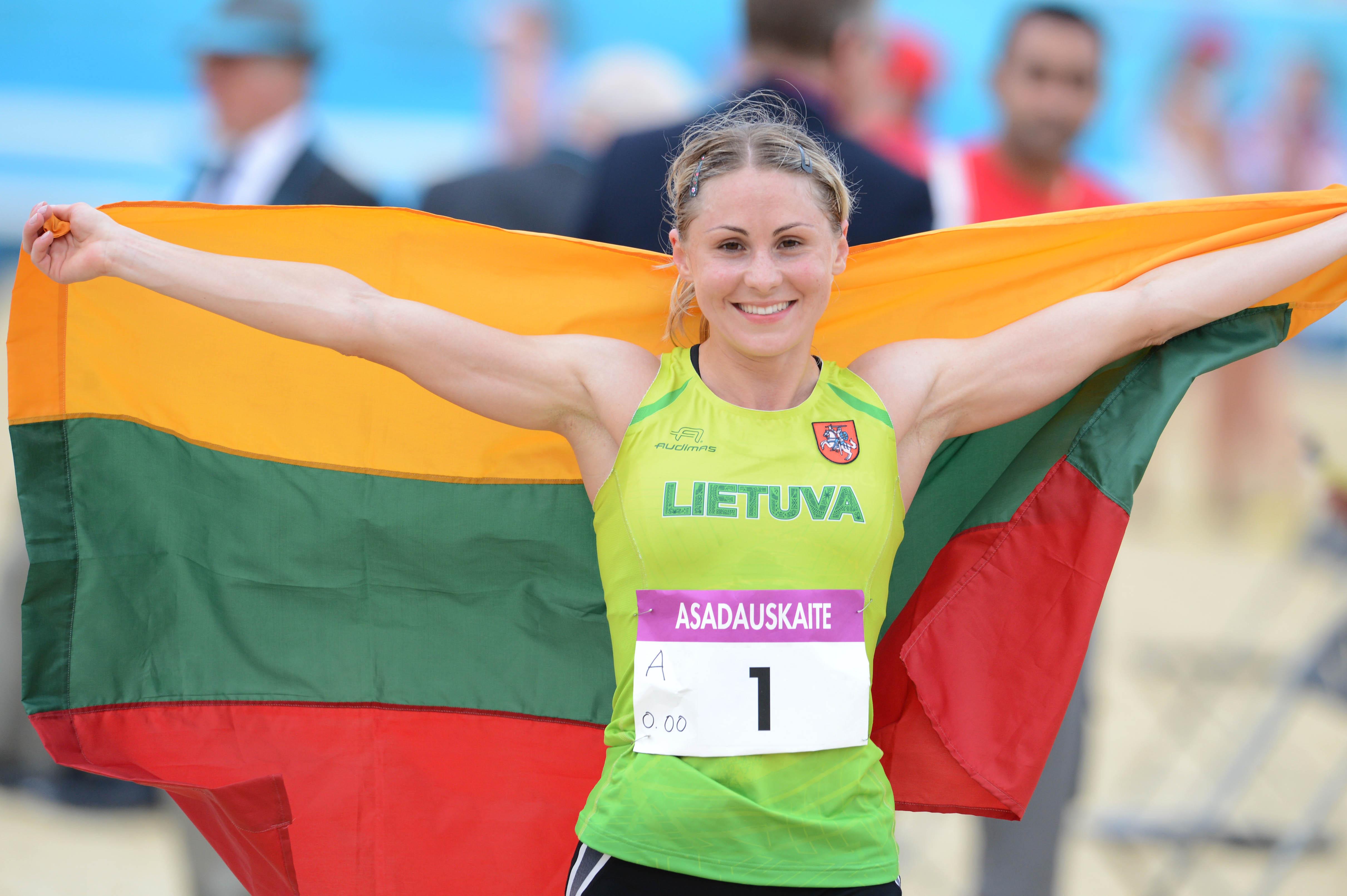 Laura Asadauskaitė-Zadneprovskienė.