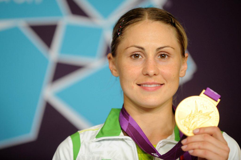 Laura Asadauskaitė 2012 m. Londone tapo olimpine čempione (A.Pliadžio nuotr.)