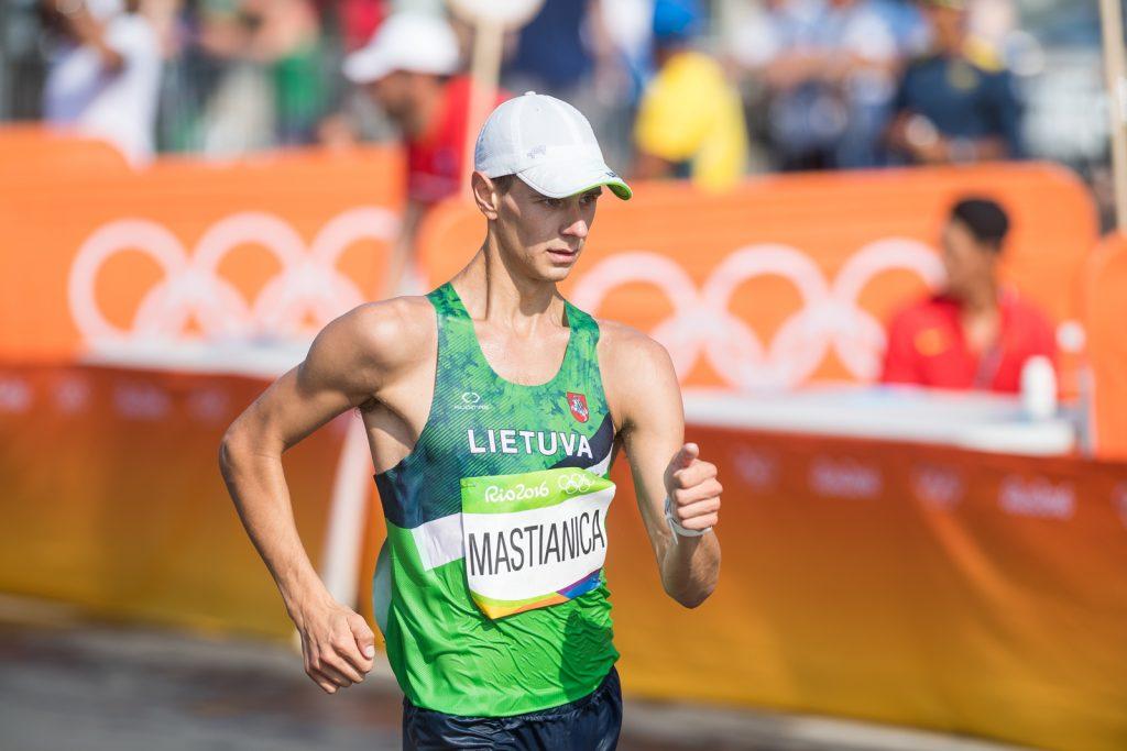 Artur Mastianica Rio de Žaneiro olimpinėse žaidynėse (A.Pliadžio nuotr.)