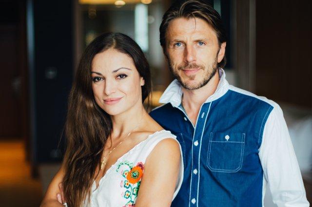 Margarita Drobiazko ir Povilas Vanagas.