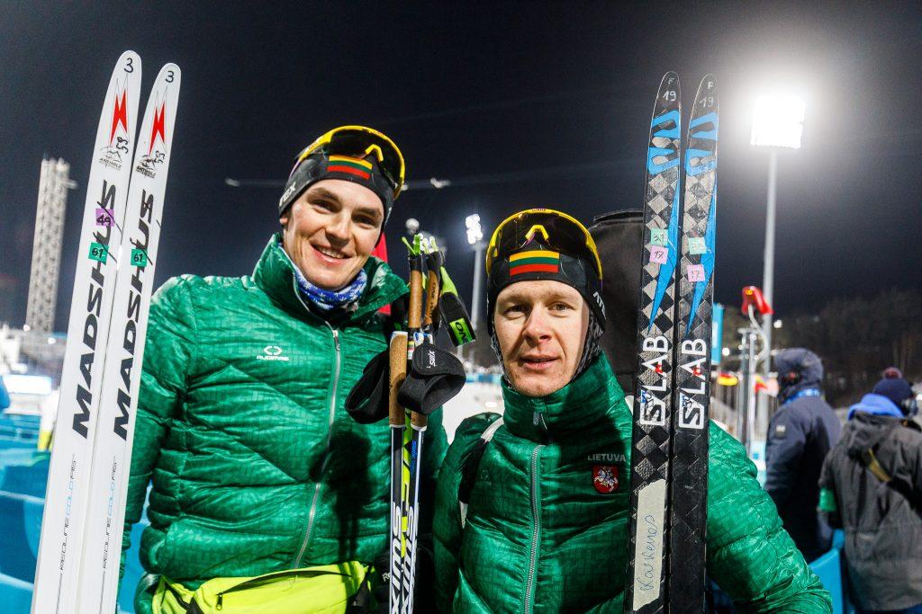 Vytautas Strolia ir Tomas Kaukėnas