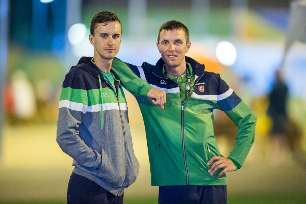 Ignatas Konovalovas ir Ramūnas Navardauskas