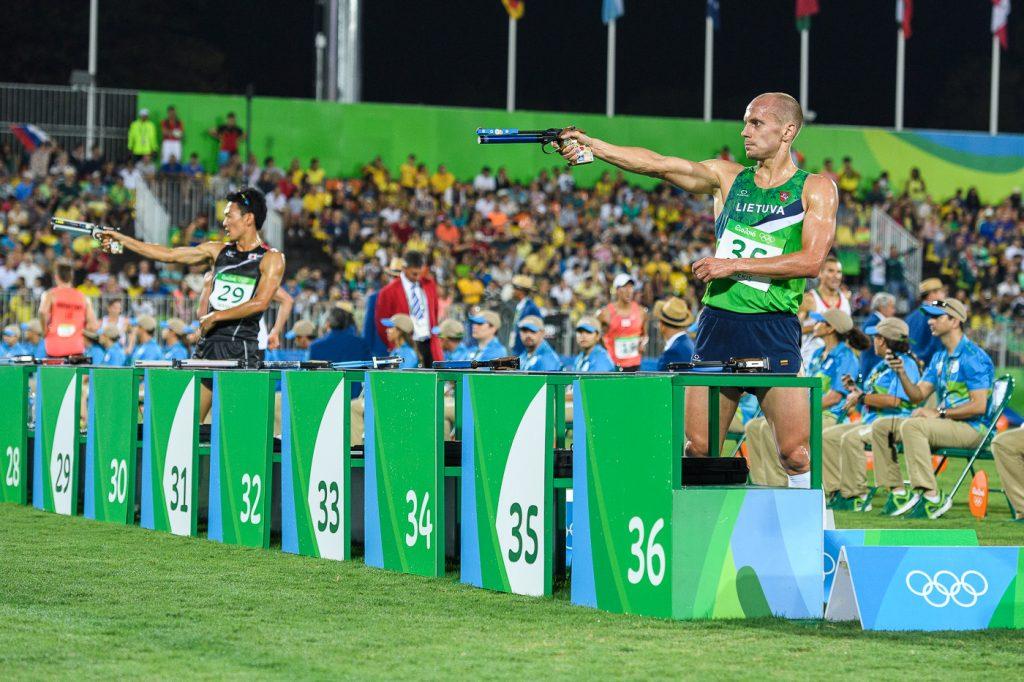 Justinas Kinderis 2016 m. Rio de Žaneiro olimpinėse žaidynėse
