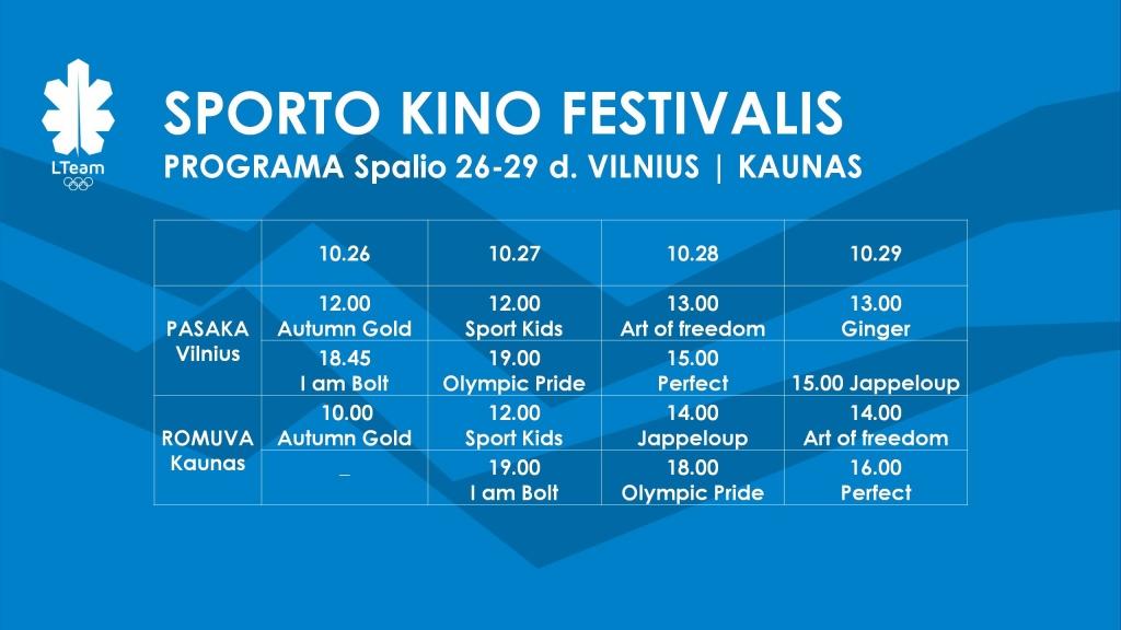 Sporto kino festivalis 2017