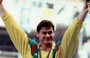 Romas Ubartas Barselonos olimpinėse žaidynėse (V.Malinausko nuotr.)