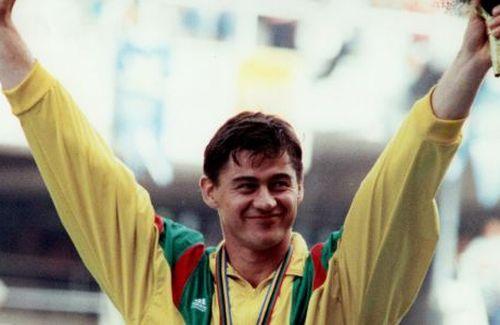 Romas Ubartas Barselonos olimpinėse žaidynėse.