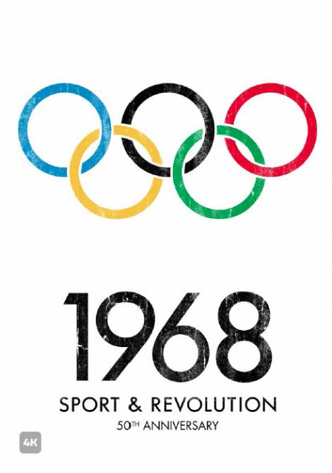 1968 sportas ir revoliucija plakatassss