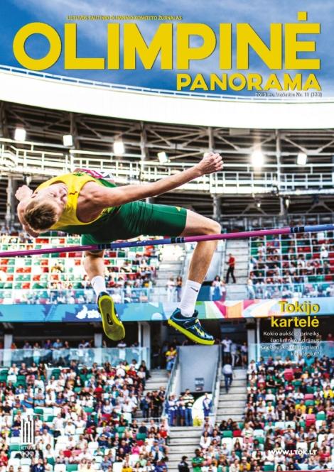 Olimpinė panorama 2019 lapkritis