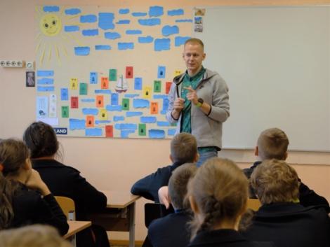 Tomas Kaukėnas mokytojas