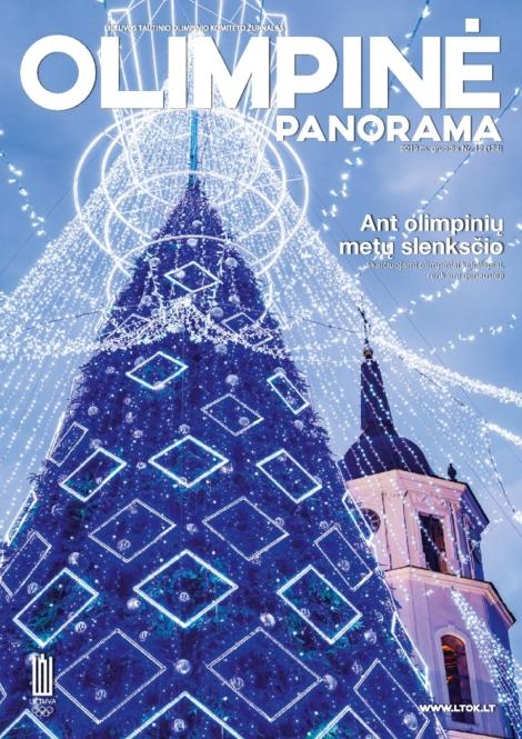 Olimpinė panorama viršelis 2019 gruodis