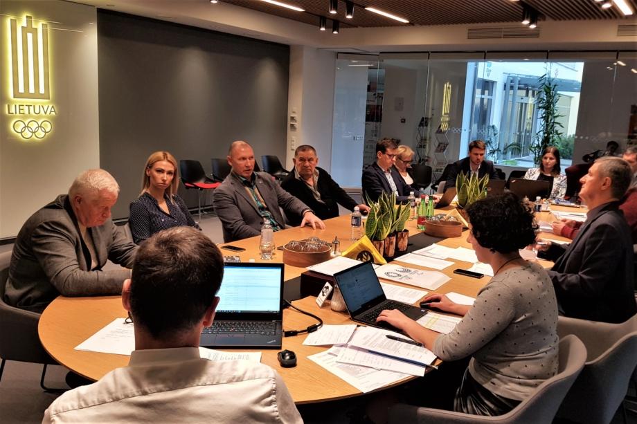 Ekspertų komisijos posėdis