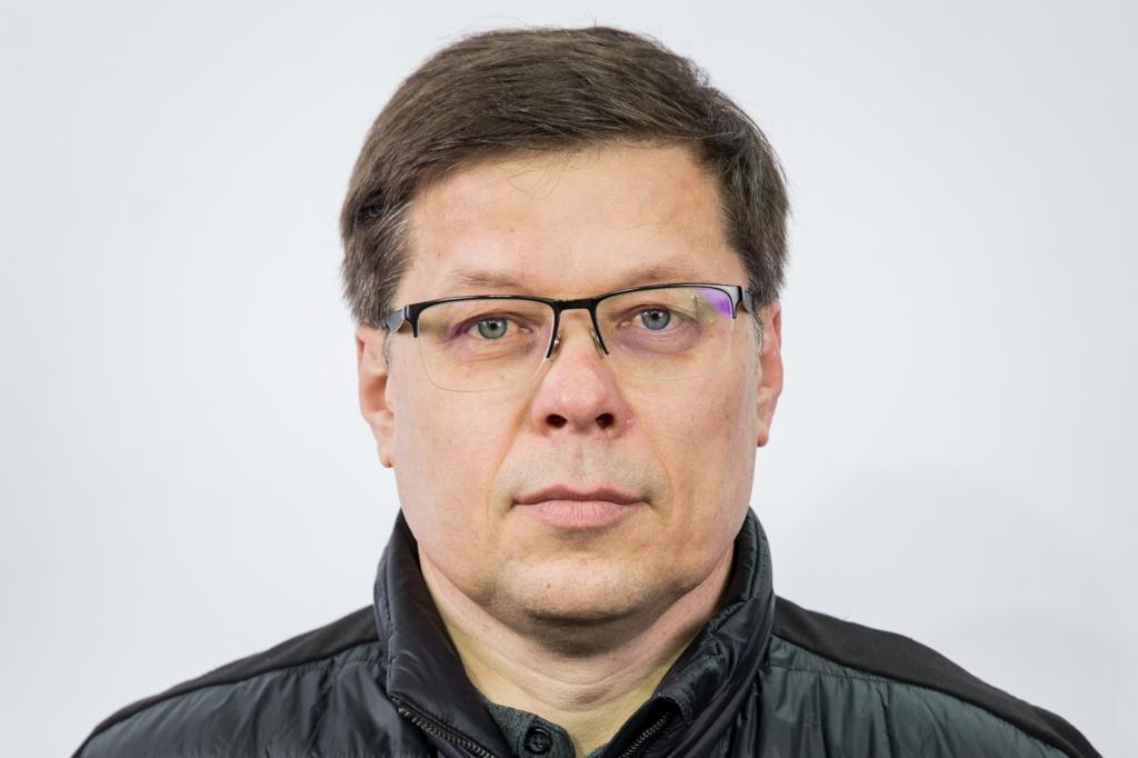 """Asociacijos """"Hockey Lietuva"""" generalinis sekretoriu Vaidas Budrauskas"""