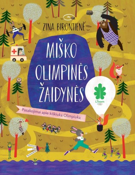 Miško olimpinės žaidynės viršelis
