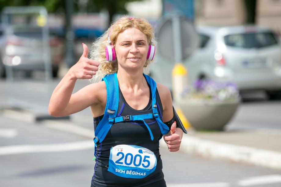 Olimpinės dienos bėgimas 2019 (Sauliaus Čirbos nuotr.)