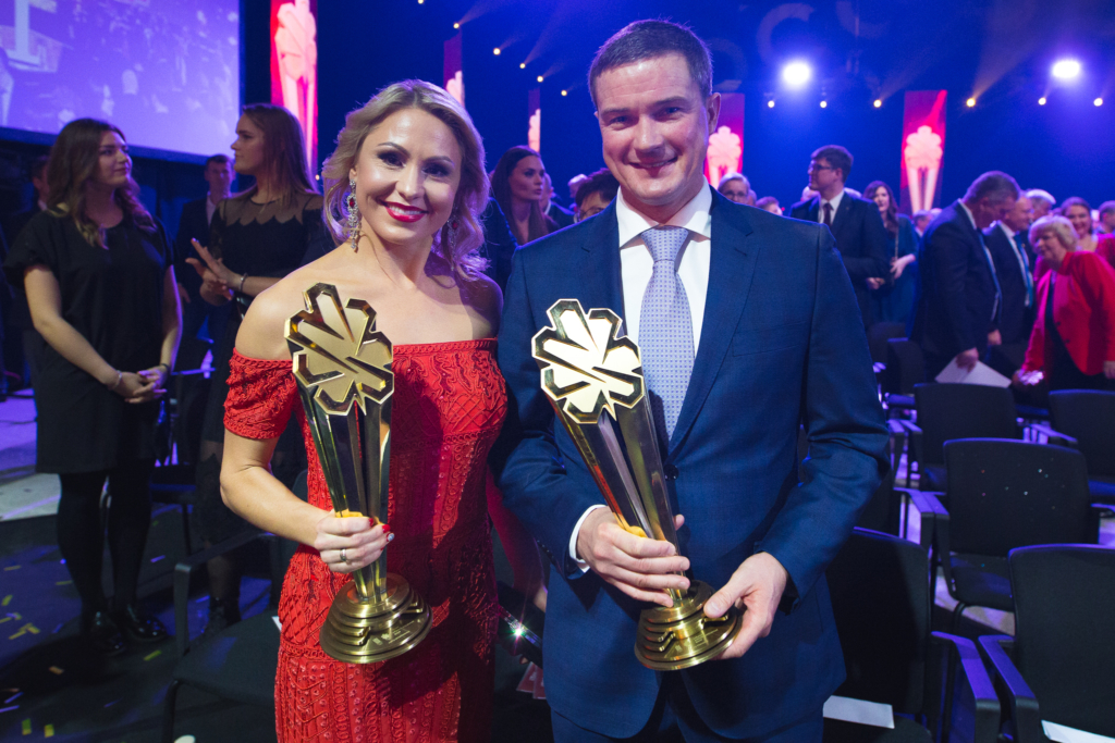 Laura Asadauskaitė-Zadneprovskienė ir Andrejus Zadneprovskis (Elvio Žaldario nuotr.)