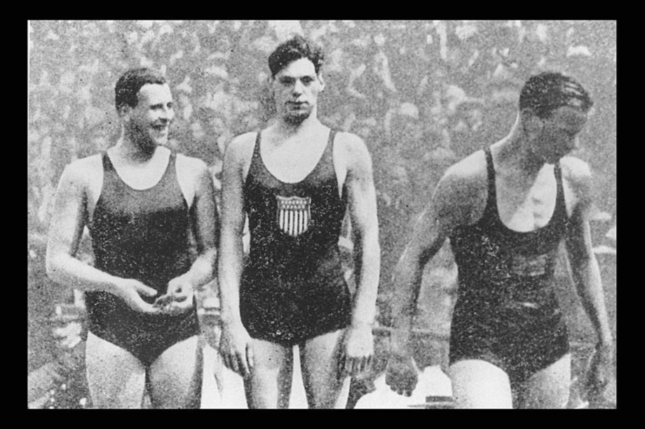 Johnny Weissmuller by IOC