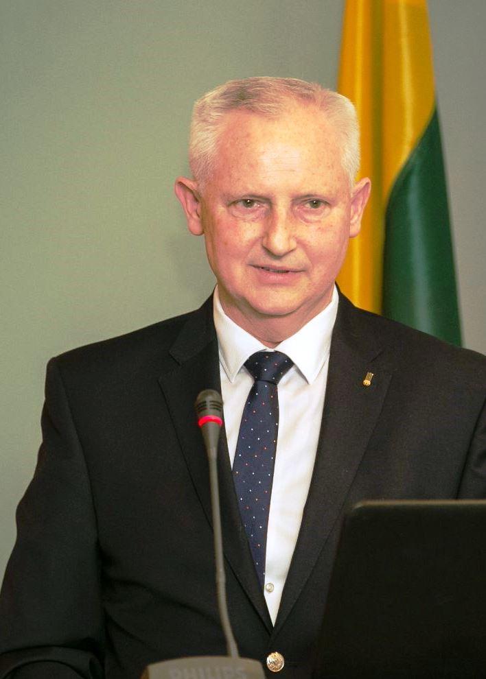 Lietuvos golfo federacijos prezidentas Česlavas Okinčicas