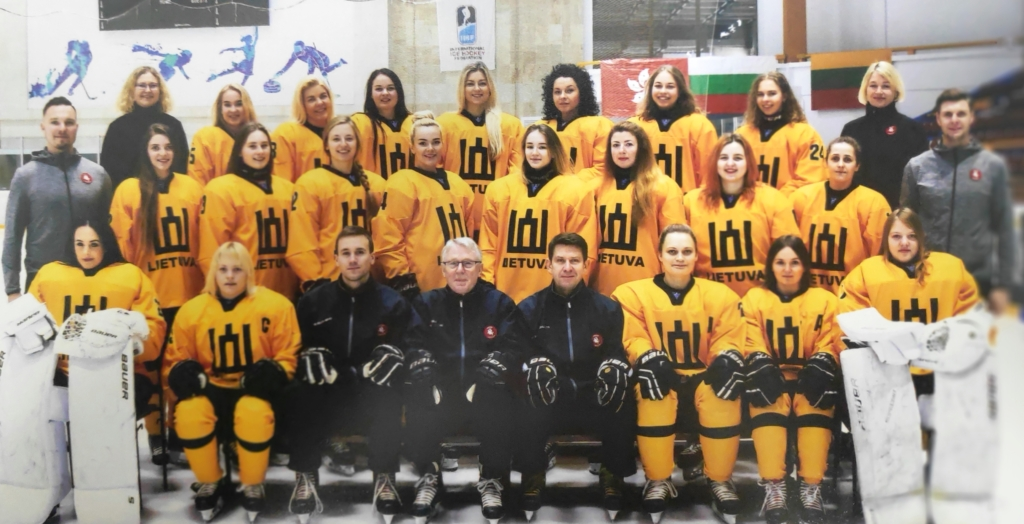Lietuvos moterų ledo ritulio rinktinė. Hockey.lt nuotr.