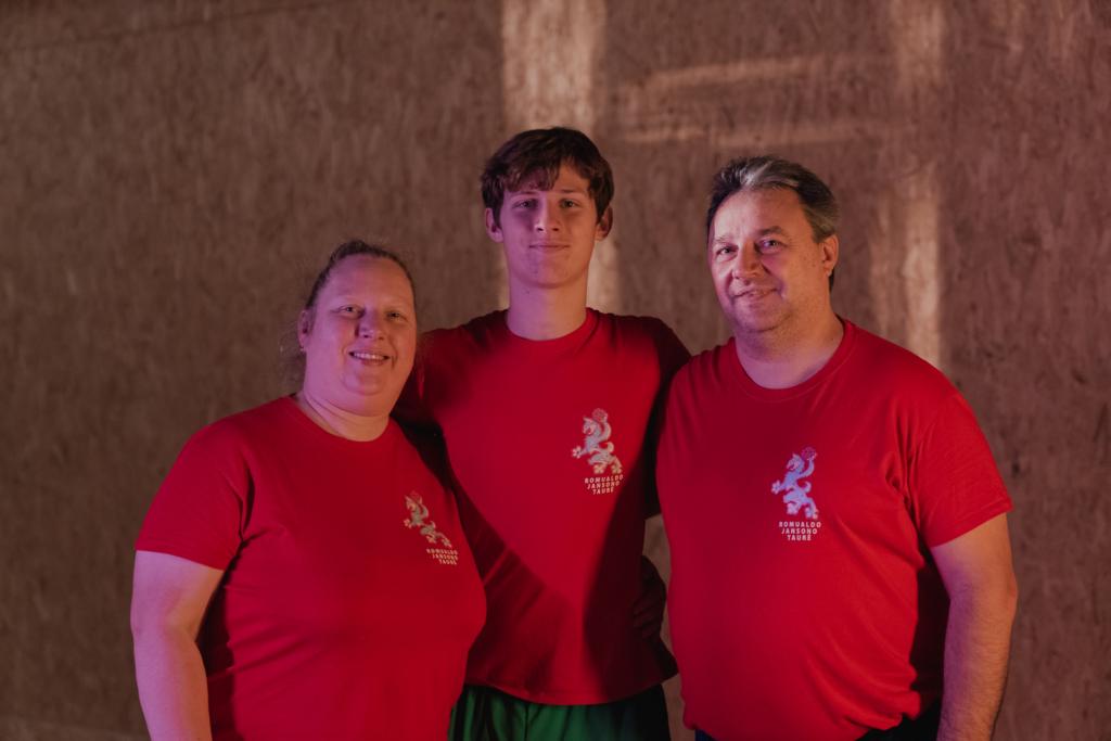 Asta, Romualdas ir Tadas Jansonai (Kipro Štreimikio nuotr.)