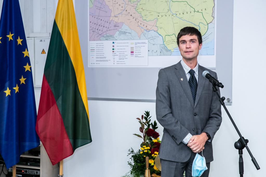 M. Žiūkas ėjo Seimo kanclerio pareigas.