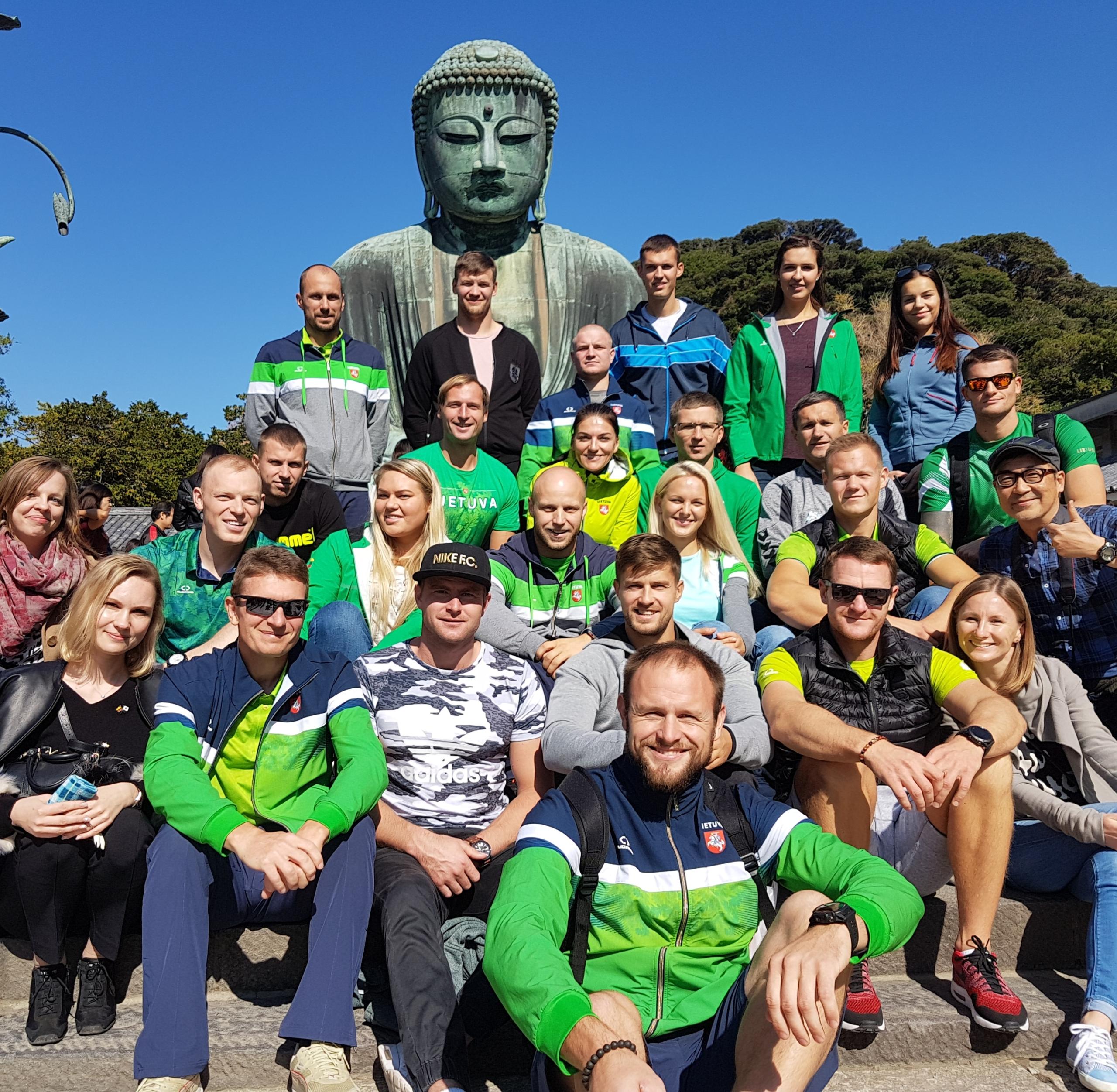 Hiracukoje jau yra apsilankę daugybė Lietuvos olimpinės rinktinės kandidatų. Čia jie sutinkami labai šiltai. LTOK nuotr.