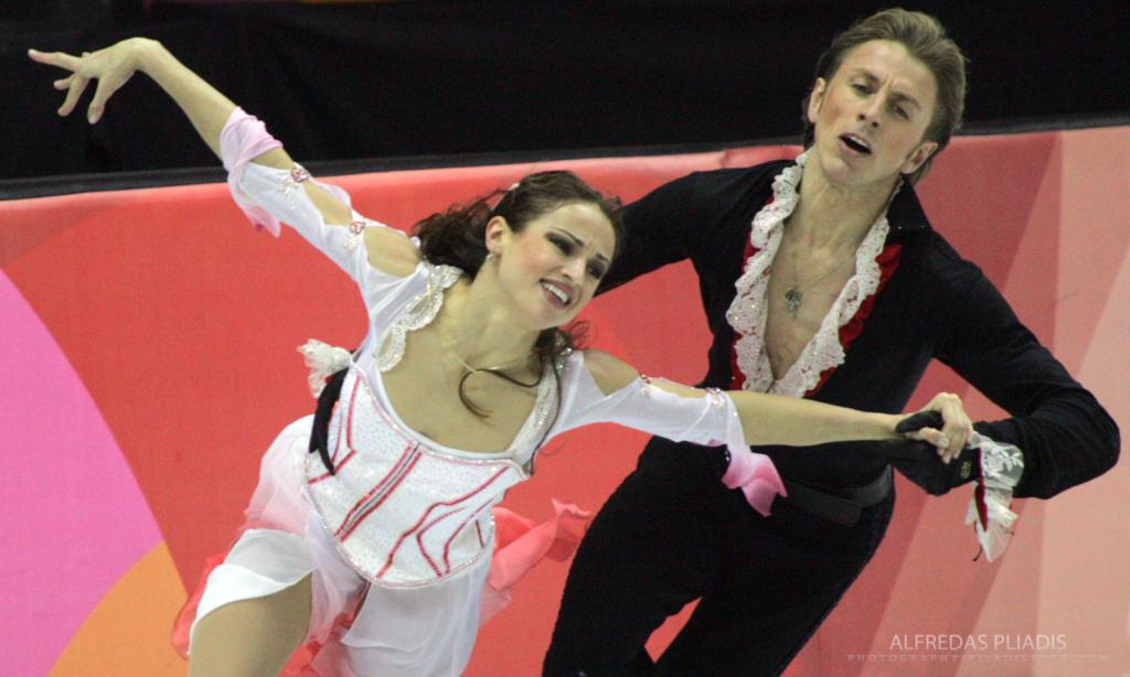 M.Drobiazko ir P.Vanago šokis Turino olimpinėse žaidynėse (Alfredo Pliadžio nuotr.)