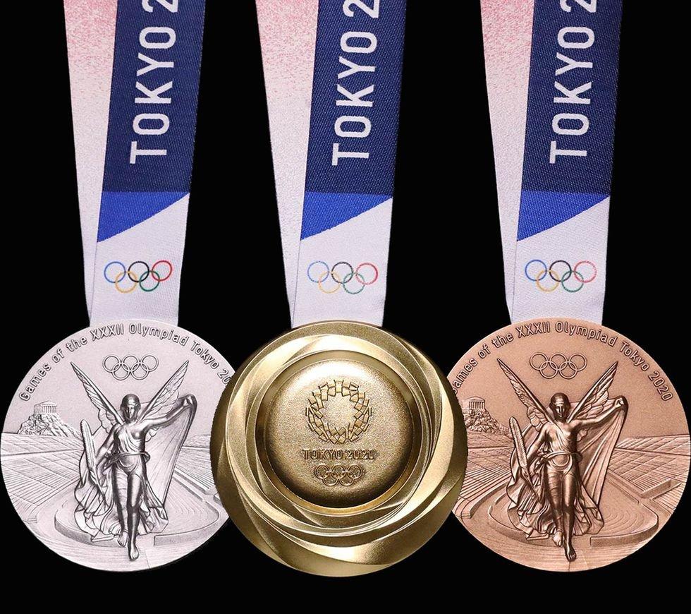 Olimpiniai medaliai (IOC Media nuotr.)