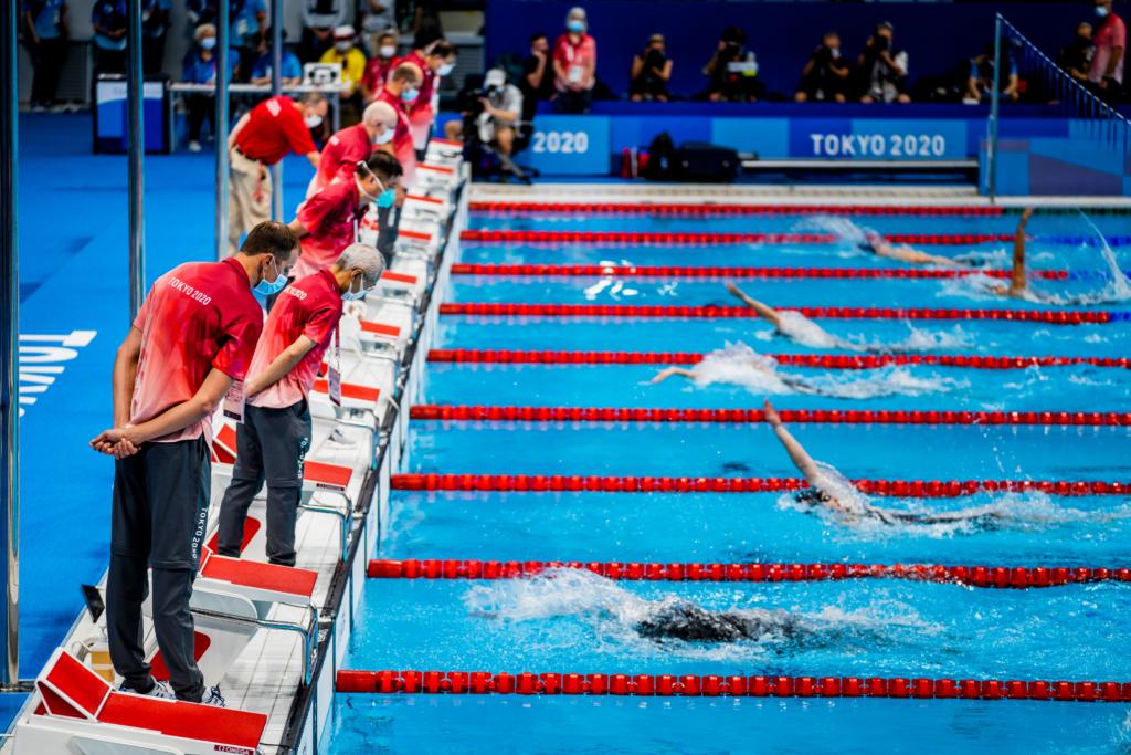 Daugiausia pasaulio rekordų pasiekė plaukikai (K.Štreimikio nuotr.)
